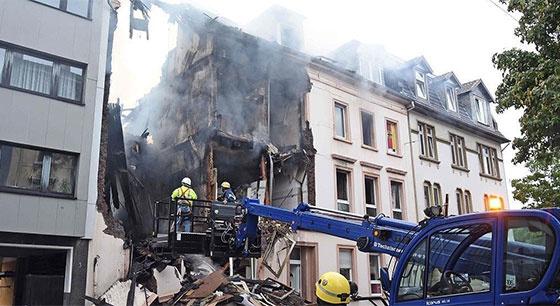 德国一建筑突发爆炸 多人重伤