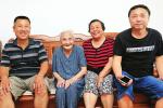 济南94岁老人金伯凤长寿秘诀:与人为善 长寿不难!