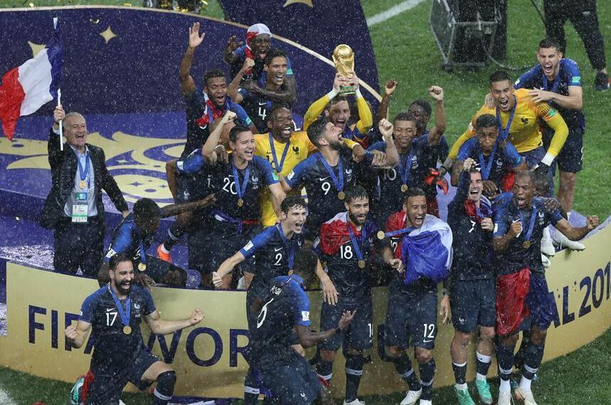 2018俄罗斯世界杯决赛 时隔20年法国再捧杯