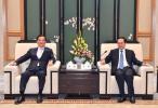 车俊会见中国国民党前主席连战