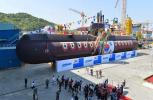 韩国最强潜艇下水仪式被推迟 官方发消息后又删除