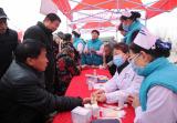 河南浚县:百名专家走进千年古庙会开展义诊活动