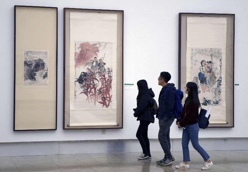 浙江美術館舉辦紀念周滄米誕辰九十週年作品展