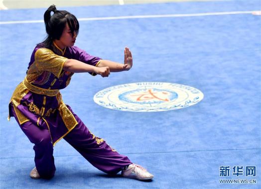 第十六届全国武术之乡武术套路比赛开赛
