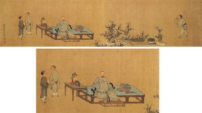 清代御用宫廷画师——禹之鼎作品欣赏