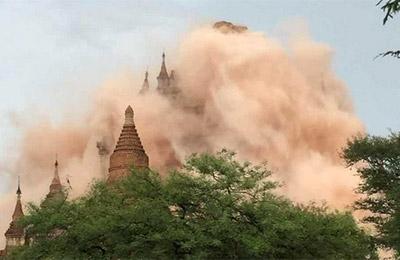 缅甸发生6.9级地震
