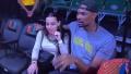 波什携妻子现场观看母校NCAA比赛