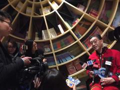六小龄童携新书回杭州 美猴王风采依旧