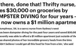 女护士捡垃圾为食 4年后买豪宅