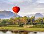 云南人到老挝开发旅游项目 乘热气球鸟瞰湄公河