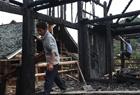 广西一村庄发生大火