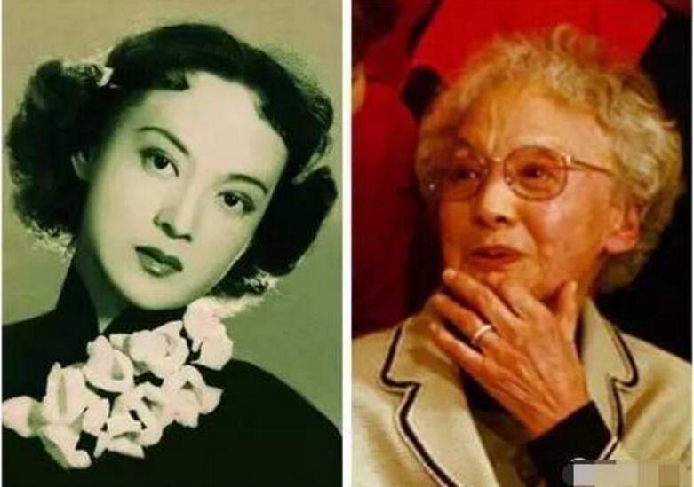 中国十大女星今昔对比