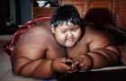 世界最胖男孩重380斤