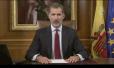 """西班牙国王谴责""""独立公投"""":既非法,也不民主"""