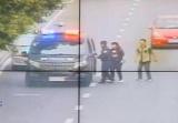 杭州警车接力运送受伤幼童,市区3.1公里215秒跑完