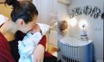 胡杏儿曝光婴儿房布置 全家人的心思都用上了