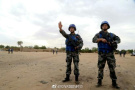 中国赴马里维和警卫队遇炸弹威胁 官兵这样处置