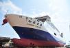 山东:一创纪录大型客滚船交付使用 将投入中韩航线