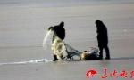 多团伙非法凿冰捕鱼