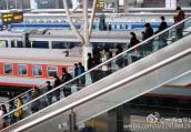 南京站迎元旦小长假运输客流高峰