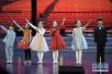 河北省固安县大剧院举行迎新春少儿歌舞演出活动