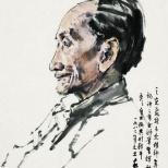 画家蒋兆和像