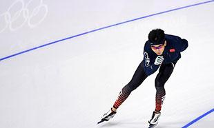 速滑运动员备战冬奥会