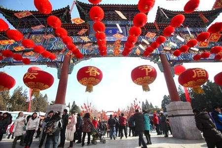 恒格电子游戏大全:北京:春节庙会年味浓京味京韵中寻根