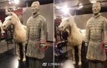 兵马俑在美展览手指被盗 偷盗者将面临审判