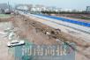 郑州启重污染天气橙色预警 经开区一工地仍尘土满天飞