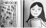9岁女孩画胃癌妈妈