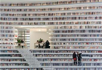 探访最美公共图书馆·滨海新区图书馆