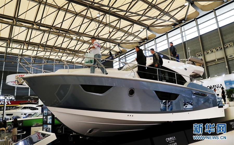 国际游艇展开幕