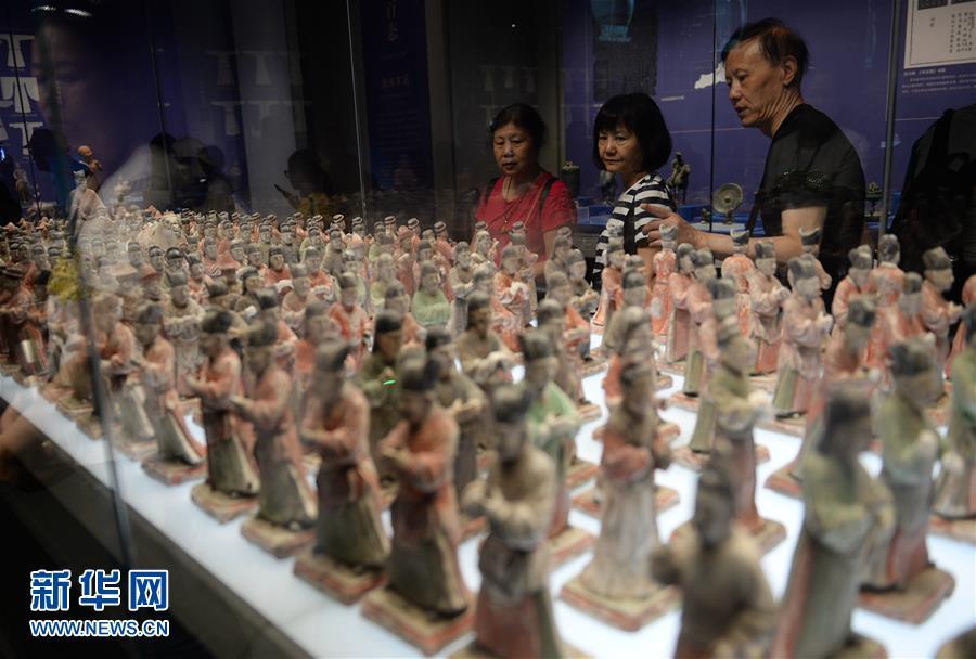 《陕西古代文明》展览