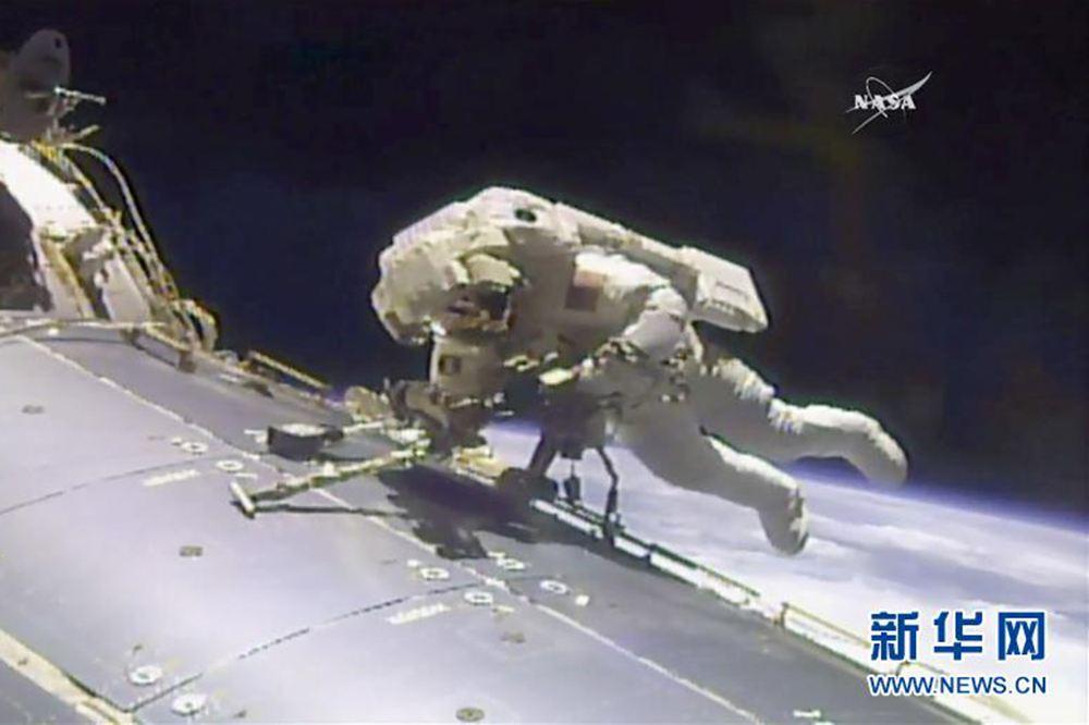 "NASA为国际空间站送""冰箱"" 比太空真空环境温度低100亿倍"