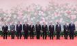上合峰会上这幅大作是巨野农民画 218朵牡丹有寓意