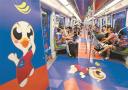 世界女排联赛总决赛将在南京举行 女排地铁亮相