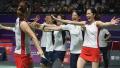 亚运羽毛球女团决赛 日本队3-1中国队夺冠