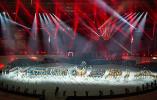 高清现场图来啦!第18届亚运会闭幕式在雅加达举行