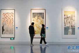 山东青年美术作品全国巡展(郑州展)开幕