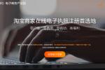 杭州未来科技城发出全国首张淘宝商户电子营业执照