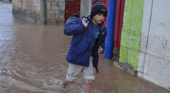 多处叙利亚难民营艰难度日