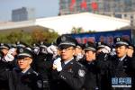 广州铁警举行誓师大会 投入上千警力保春运平安