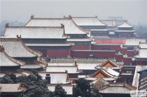 【组图】终于等到你!北京迎大雪 大地银装素裹