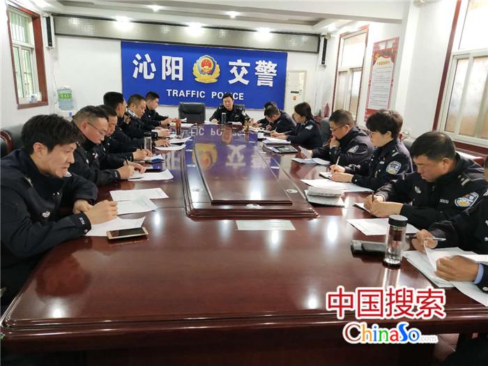 沁阳市提前部署清明节道路交通安保工作