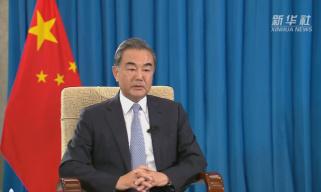 国务委员兼外交部长王毅接受新华社专访