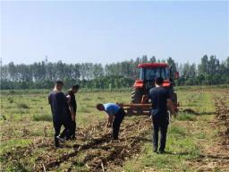 15万亩!汝州市2021年农机深松整地补助政策出台