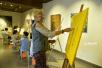 儿童节 义乌孩子跟着乌克兰奶奶学画画