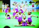南京幼儿基本体操比赛举行 800多名学龄前儿童参赛