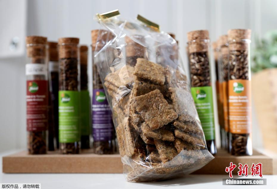 挑战你的味蕾!比利时一公司推出蟋蟀饼干